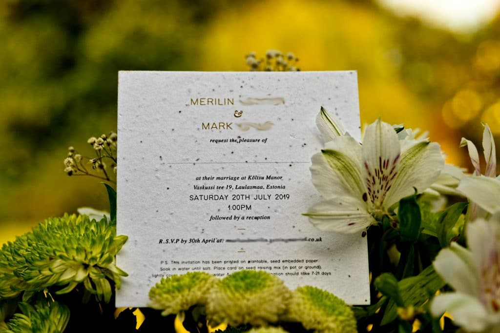 Wedding Invitations with a difference