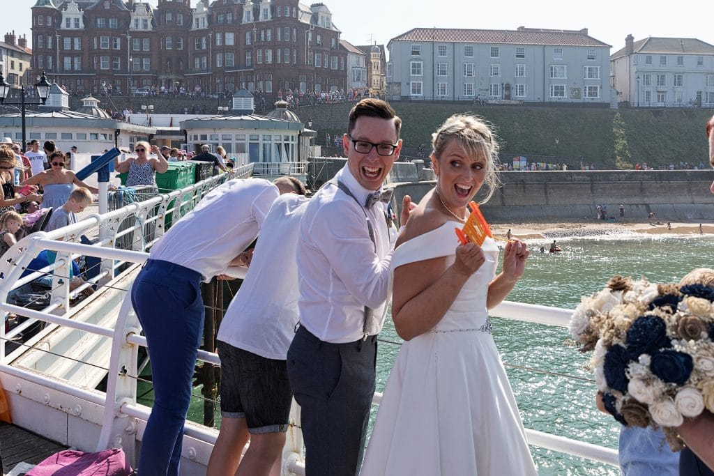 Northrepps Cottage Country Hotel Wedding Photography - Cromer Pier