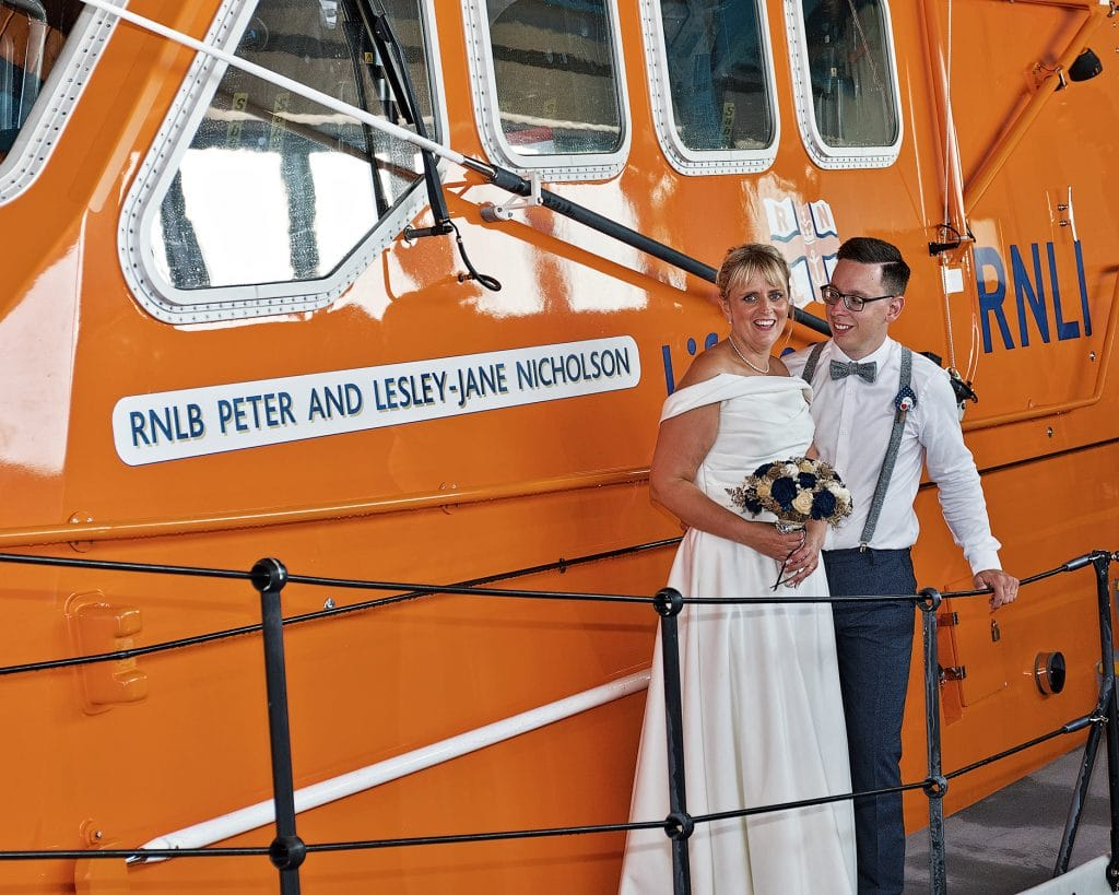 Northrepps Cottage Country Hotel Wedding Photography - RNLI