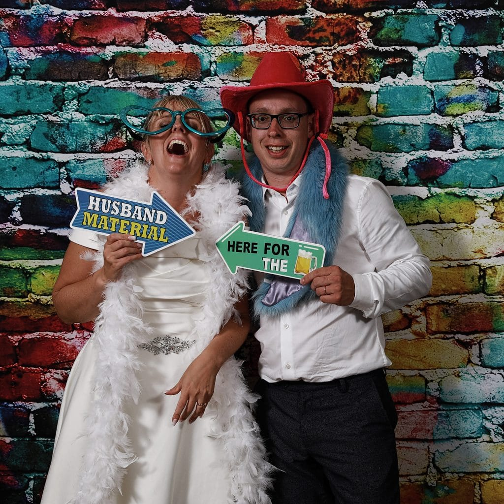 Northrepps Cottage Country Hotel Wedding Photography - Just Big Smiles Photo booth